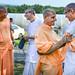 Devamrita Swami with Radhanath Swami