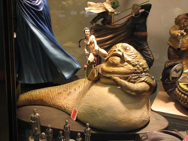 """You're Going to Regret This"" - Princess Leia vs Jabba the ... Jabba The Hutt Choked"