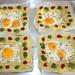 28 - Spiegelei im Kartoffelnest - Mit Tomatenmark garnieren / Fried egg in potato nest - garnish with tomato puree