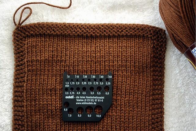 blog tricô em prosa - Amostra Lauriel - agulha 3.5mm - úmida