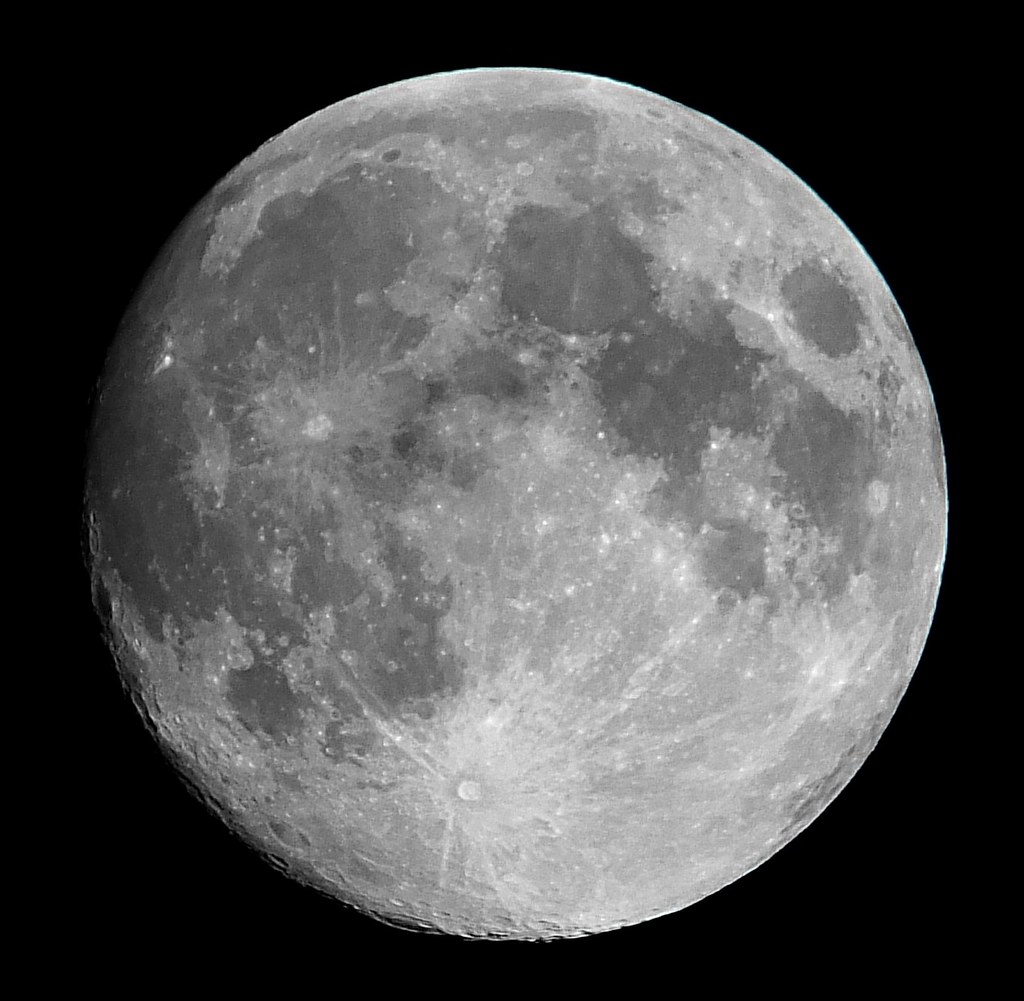 Waxing Gibbous 99 Of The Moon Is Illuminated On July 31
