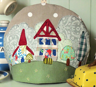 Country Village Tea Cosy | by Bustle & Sew
