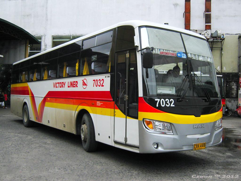 Victory Liner 7032 Victory Liner Inc Bus Number 7032 Bus Flickr