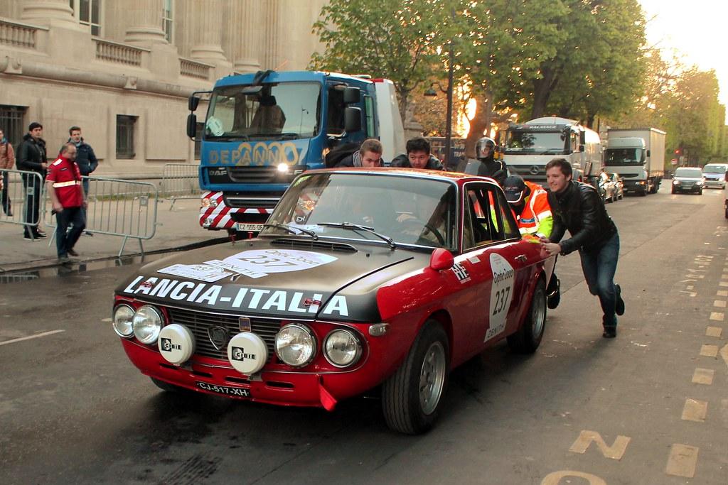 LANCIA Fulvia 1.6 HF Fanalone 1970 #237