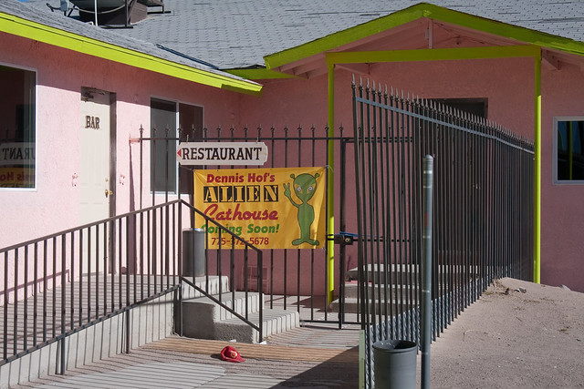 Alien Cat House In Armagosa Nevada