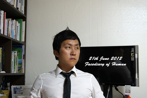 21th Jun 2012 Facediary of Human [96/366] | by HUMAN&HEROBUM