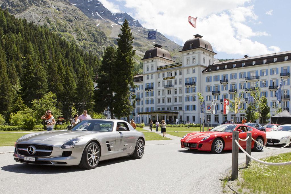 Kempinski grand hotel des bains st moritz sport cars for Hotel des grands bains