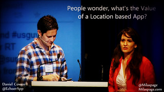 Location Based Apps - What's The Business Value - Community #140MTL | by Mila Araujo @Milaspage