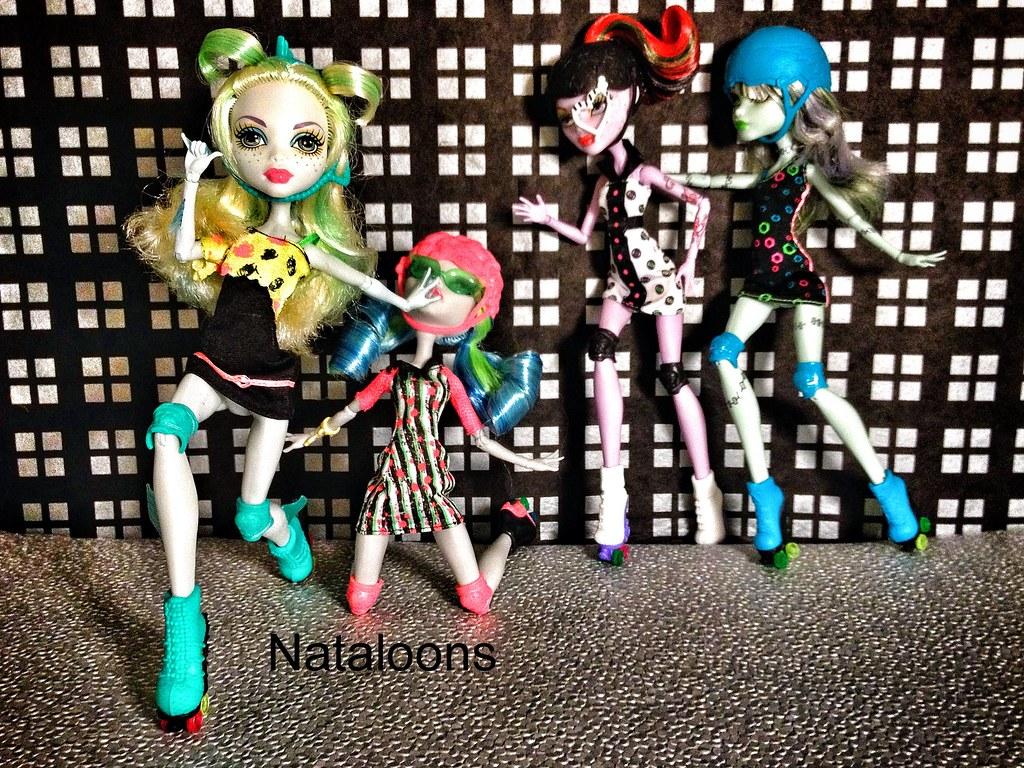 Roller Derby Monster High Dolls Monster High Roller Maze