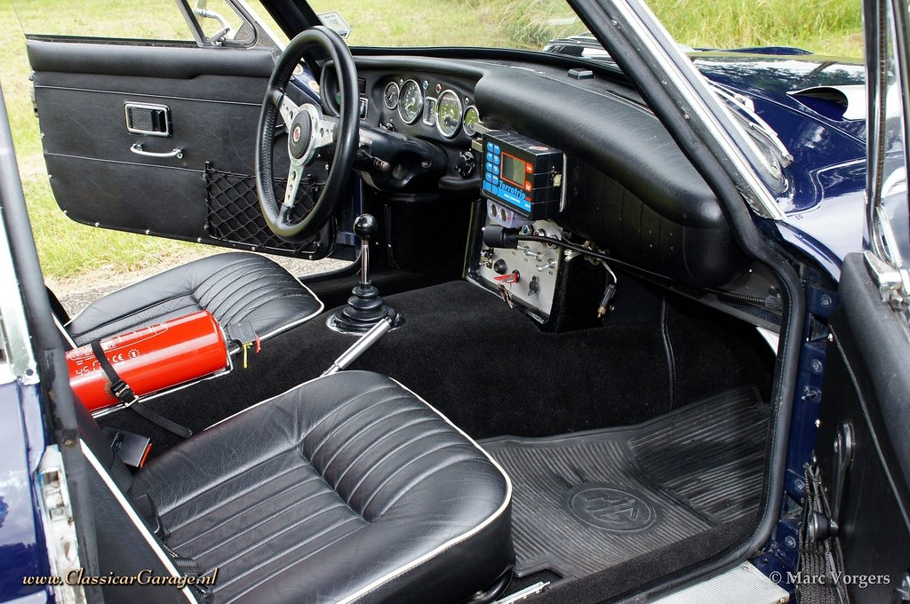 mg mgc gt rally car interior marc vorgers flickr. Black Bedroom Furniture Sets. Home Design Ideas