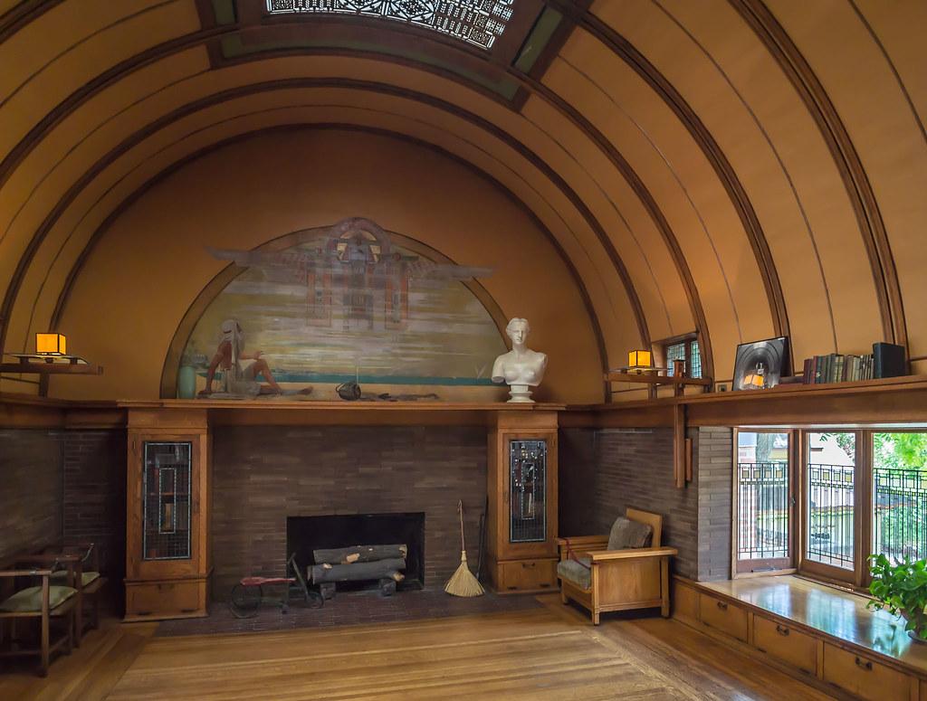 Playroom Frank Lloyd Wright Home And Studio Oak Park Il