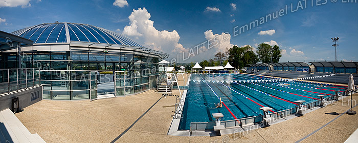 Bassin olympique ext rieur en inox de la piscine de vichy for Bellerive sur allier piscine