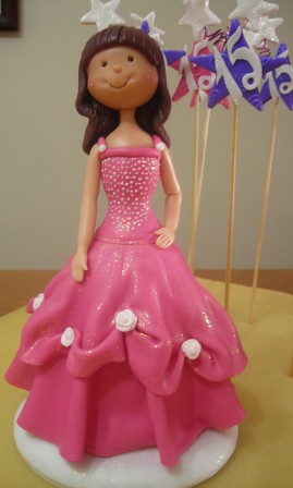 Quinceanera Precious Moments Doll Cake Toppers