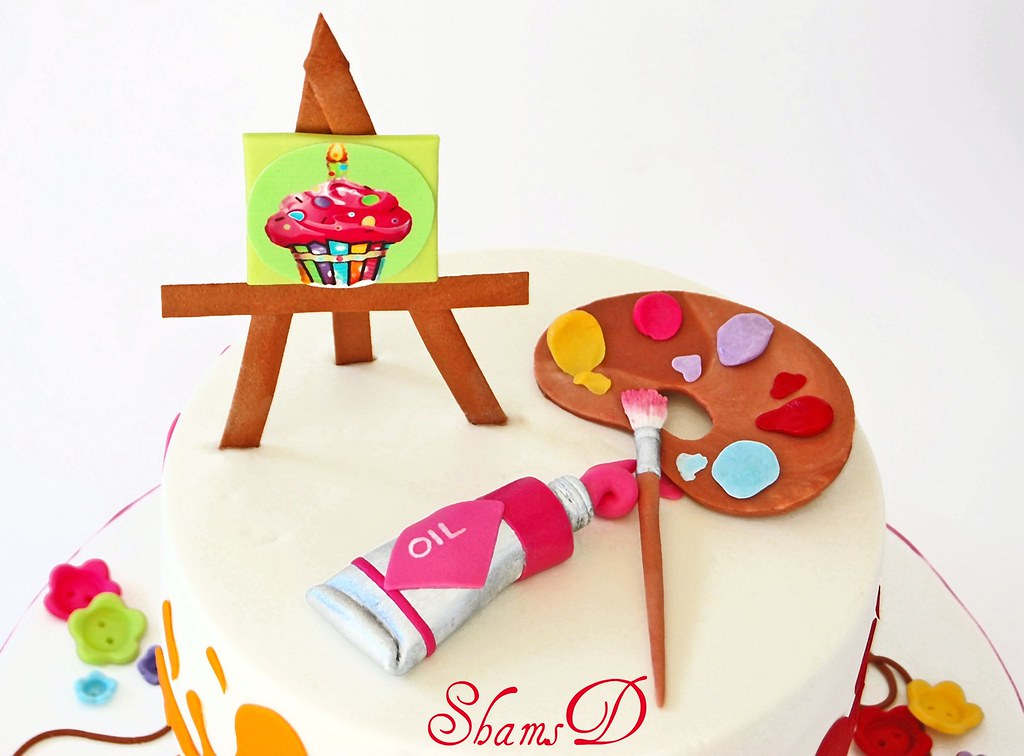 Art n Craft Cake SHAMIMA DESAI Flickr