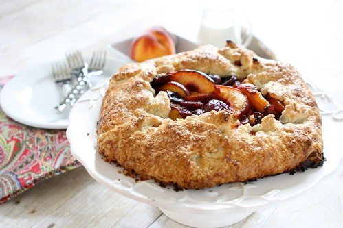 Peach Cherry Galette 004 | by Hungry Housewife