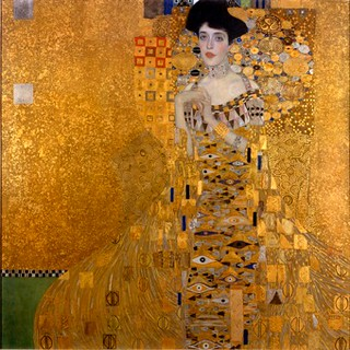 klimt painting - public from Wikipedia | by jayweston@sbcglobal.net