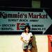 Me at Kammie's Market, Sunset Beach, Hawaii 1991