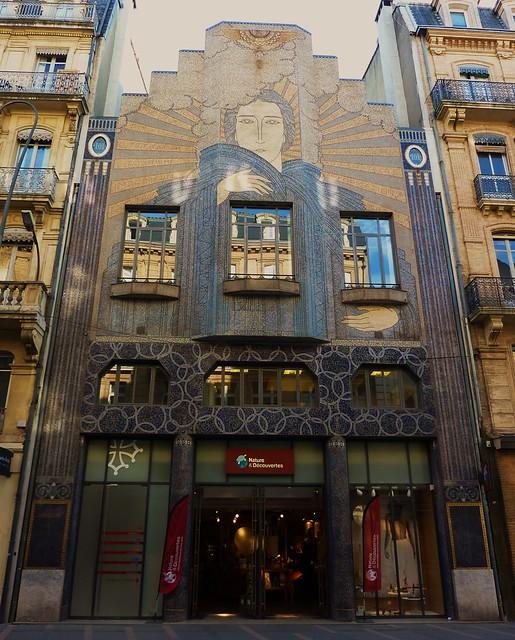 Toulouse avenue alsace lorraine fa ade art deco depeche flickr photo sharing for Decoration du facade orleans