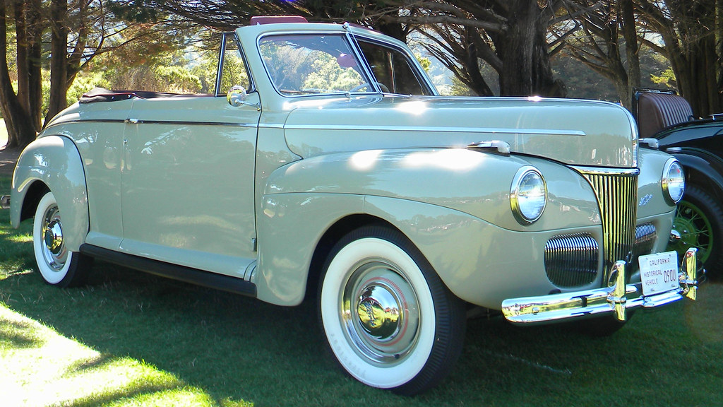 Concours D Elegance >> 1941 Ford Super Deluxe Convertible Club Coupe '090U' 4 | Flickr