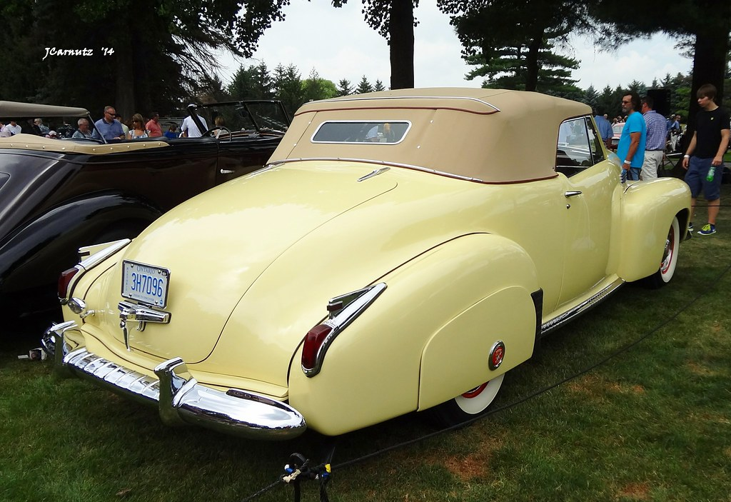 1941 Cadillac Series 62 Convertible Coupe Custom Bodied