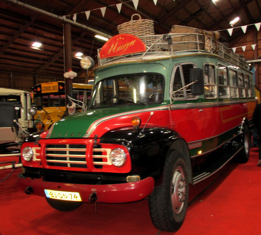 ijsseldijk bedford mandenbus old bedford bus ijsseldijk
