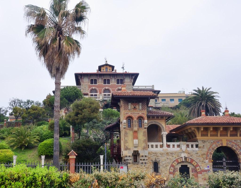 Villa liberty in corso italia genova villa canali 1924 for Ville in italia