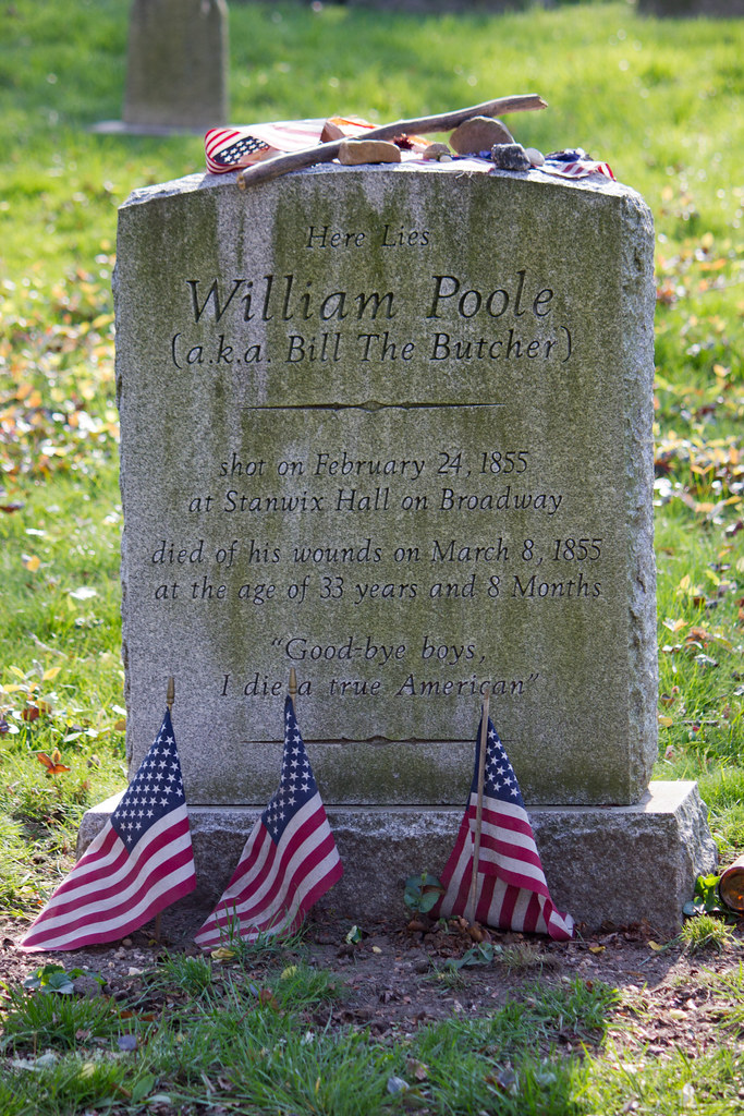 William Poole / Bill the Butcher's grave | Green-Wood ...
