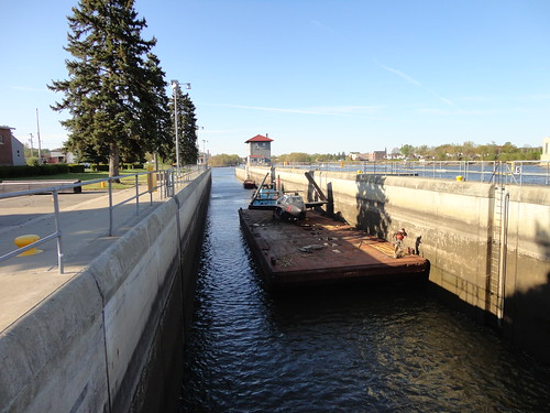Planes passing through Troy Lock on their way north to museum | by U.S. Army Corps of Engineers, New York District