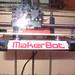 The MakerBot 3d printer