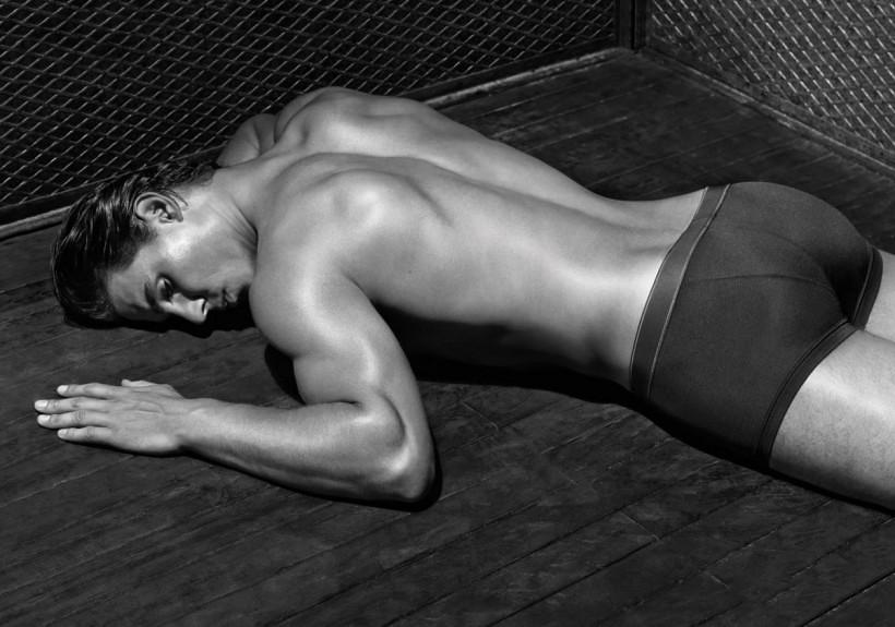Rafael Nadal naked for Emporio Armani underwear sexy butt ...
