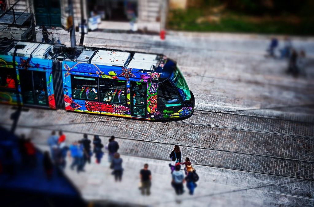 Montpellier Tram Line Tram Line 3 Montpellier
