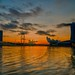 Marina Bay at day break - Singapore.
