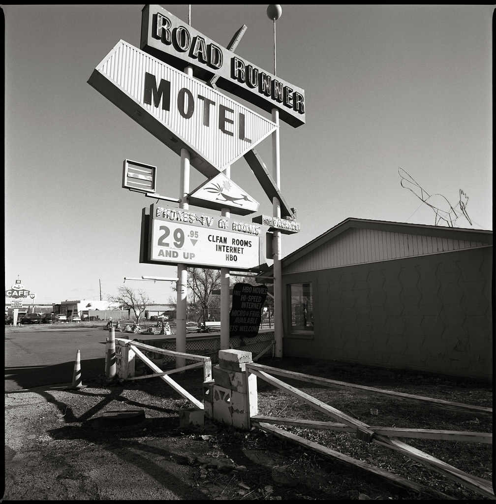 Gallup, NM | Bronica S2A/40mm, Ilford FP4 Plus ...