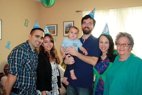 James's 1st Birthday Party 2012