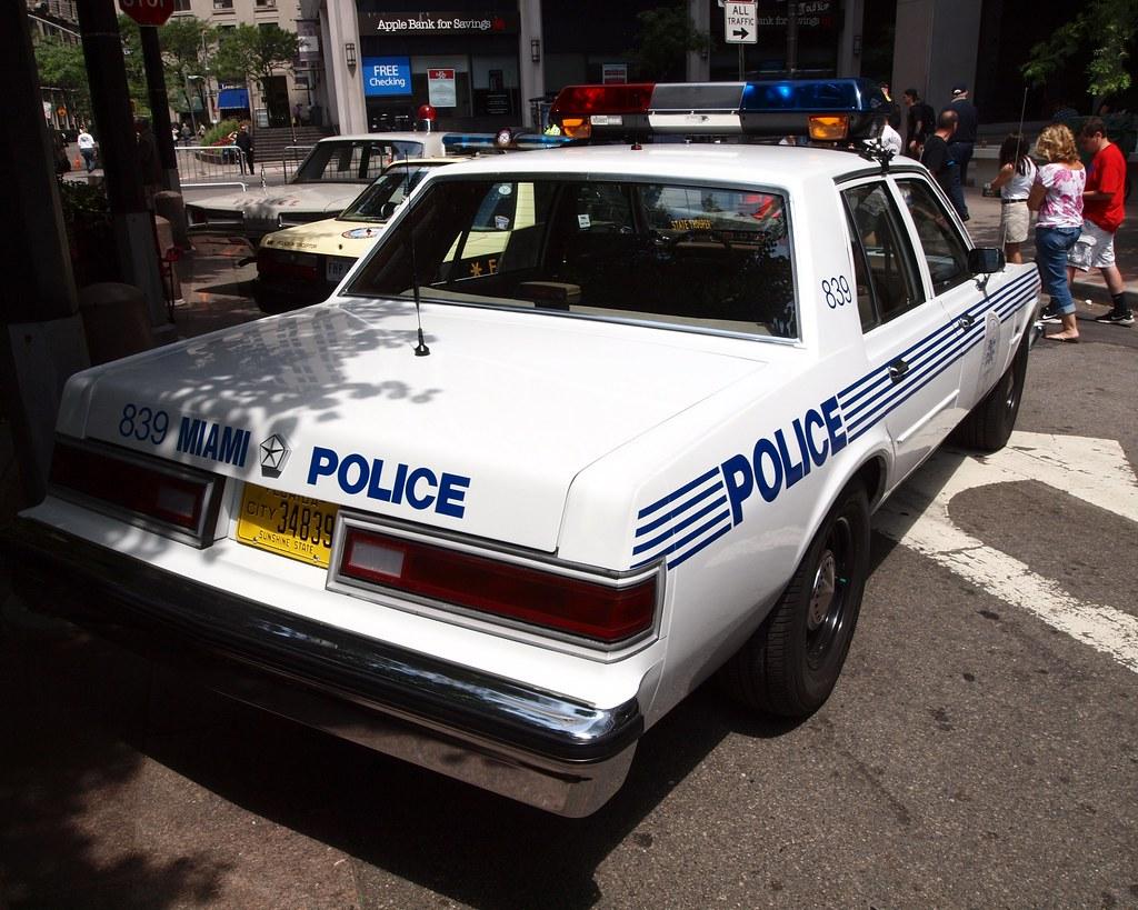 Miami Car Show >> Vintage Dodge Diplomat City of Miami Police Car | 12th ...