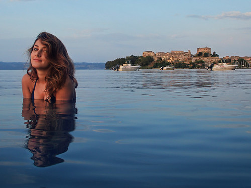 Girl Bathing, Lago di Bolsena | by CameraSintetica
