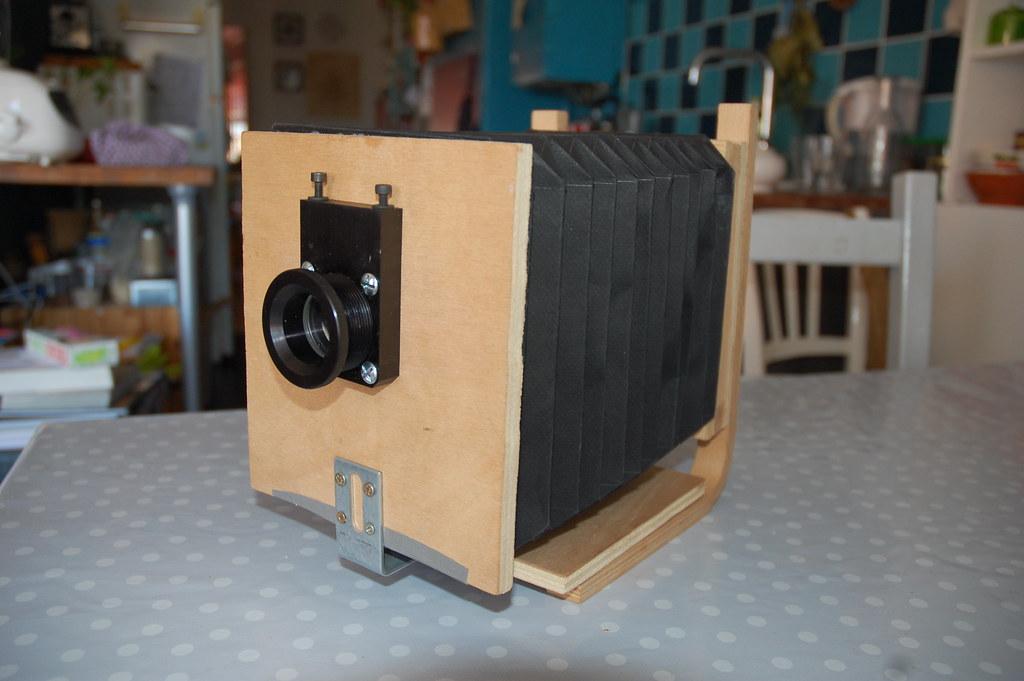 Chambre 4x5 lentille longue focale r cup r e sur un for Chambre 4x5 folding