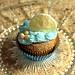 Sand Dollar Beach Cupcake
