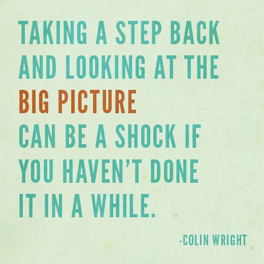 """Quotes About Taking A Step Back In Relationships: """"Taking A Step Back And Looking At"""