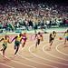 London 2012 - Men's 200m final - Start