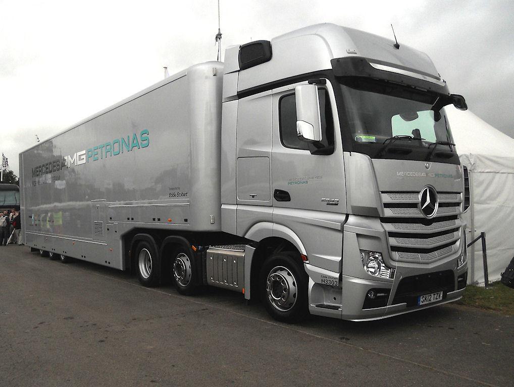 mercedes f1 racing car transporter dscn1794mods andrew wright flickr. Black Bedroom Furniture Sets. Home Design Ideas