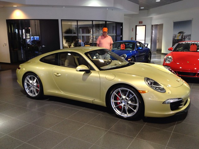 Lime Gold Metallic Porsche 991 Explore Je 174 Emyregisteredtra Flickr Photo Sharing