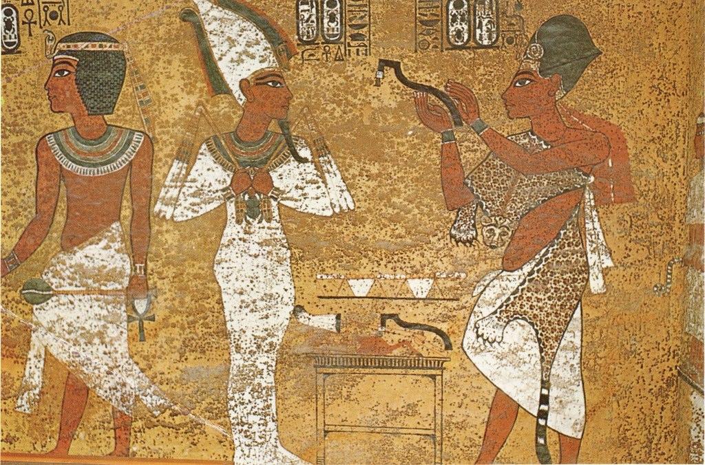 Ay As Sem Priest In Tomb Of King Tut Ay As Sem Priest In