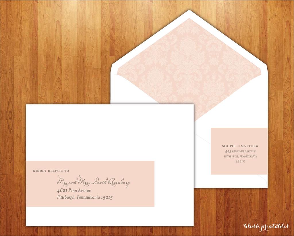 preppy-peony-wedding-invitation-address-wrap-label-sticker… | Flickr