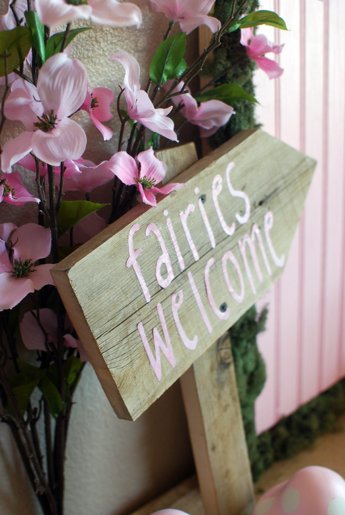 Fairy Party Fairy Welcome Sign Diy Mrshollycox Flickr