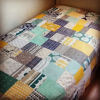 Top is done. Boo-ya!! It feels great to sew today | by Little Bluebell