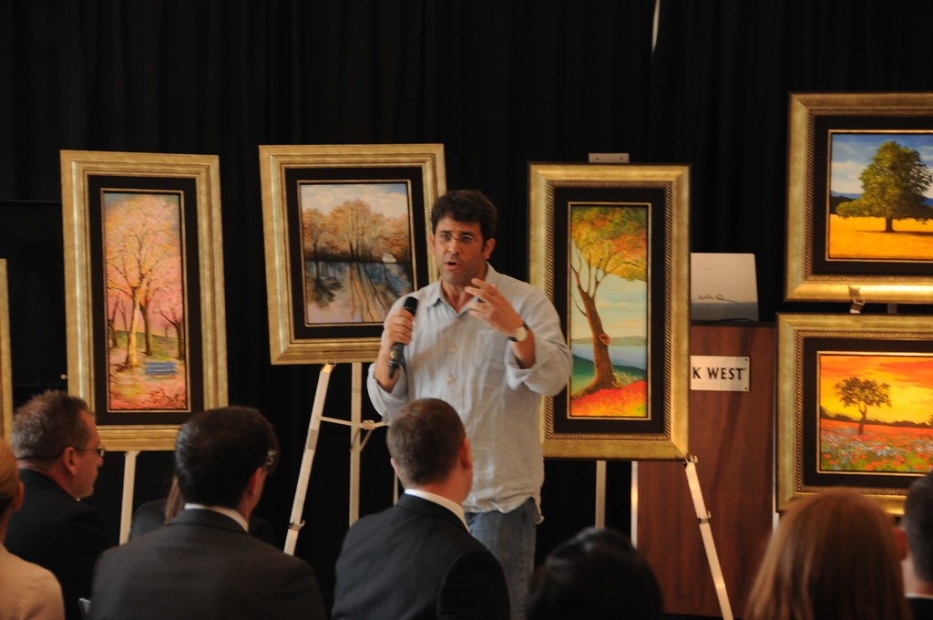 artist david najar presents his work