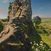 climbing in fairy glen