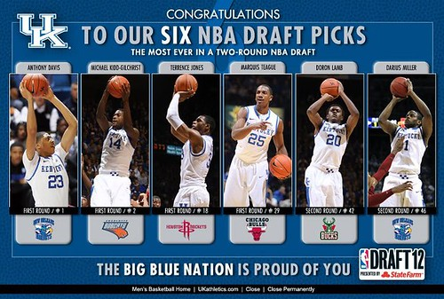 Congrats to UK's Historic NBA Draft Class | by University of Kentucky