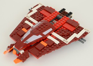 9497 Republic Striker Class Starfighter | by hmillington